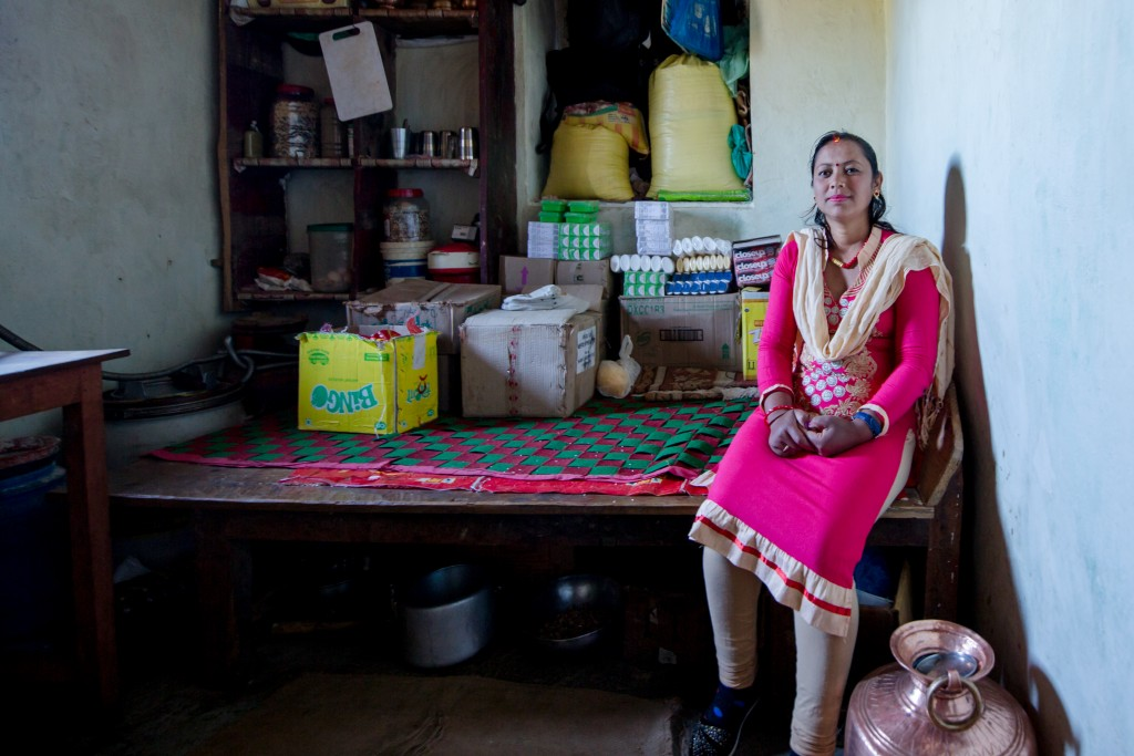 CONNECT, which is a part of the DFID-funded Rural Access Programme, has selected 168 women who have been trained and appointed by our partner Unilever Nepal Limited as rural sales agents. Tankeshwori Tamrakar is one of the m.