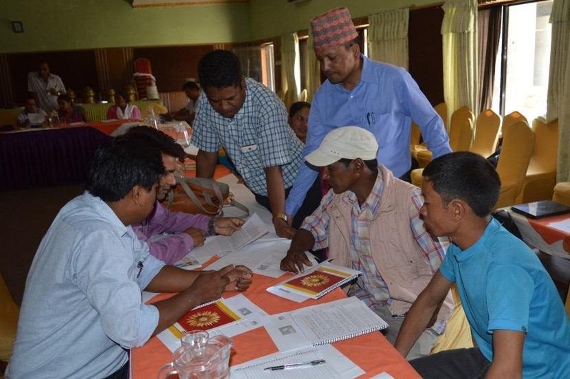 In May 2015, the Adaptation at Scale Prize organised a one-day orientation workshop in Nepalgunj, Nepal, to provide potential applicants with guidance on the competition process.
