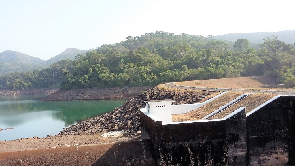 Guma Dam, which was built in early 1960s, is the major source of the water supplied to Freetown.