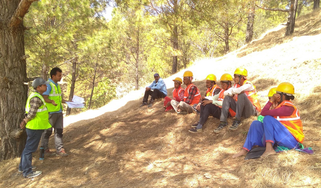 RAP's Road Maintenance Groups orientation, Dadeldhura district, Nepal.