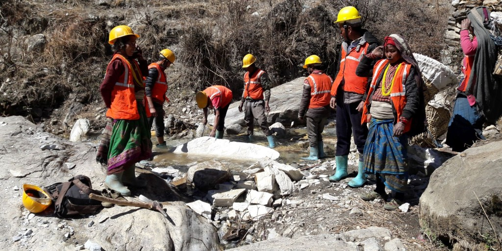 The DFID-funded Rural Access Programme, delivered by IMC in Nepal, employs 9,000 poor local people in the construction and maintenance of roads that connect remote communities to markets, healthcare and education facilities.